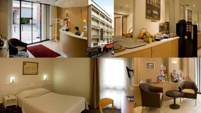 Hotels  -  Hotel Ours Blanc - Place Victor Hugo