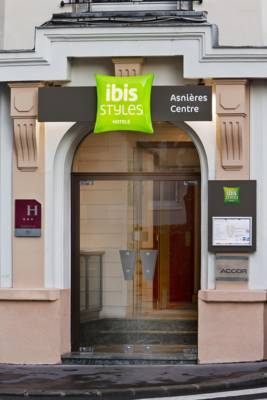 Hotels  -  ibis Styles Asnieres Centre